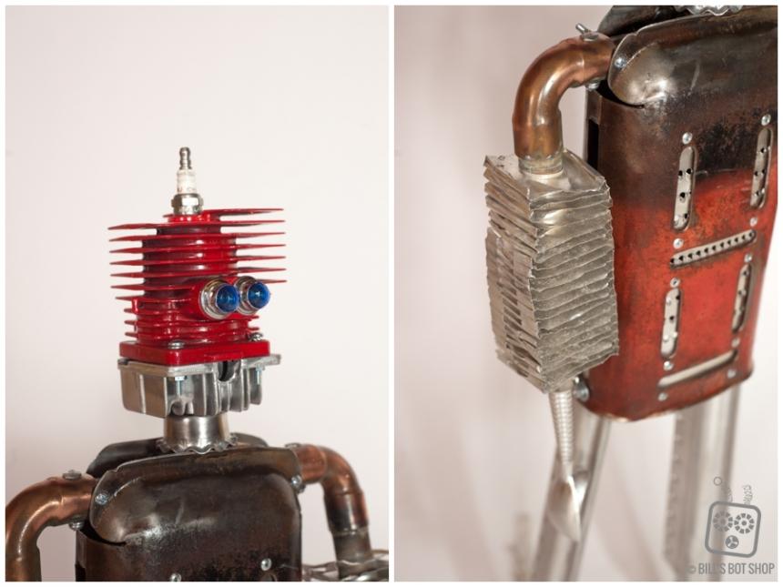 Bill S Bot Shop 187 Robot Name Shredder Sold